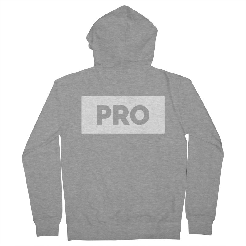 Like a PRO Men's Zip-Up Hoody by Shirts by Hal Gatewood