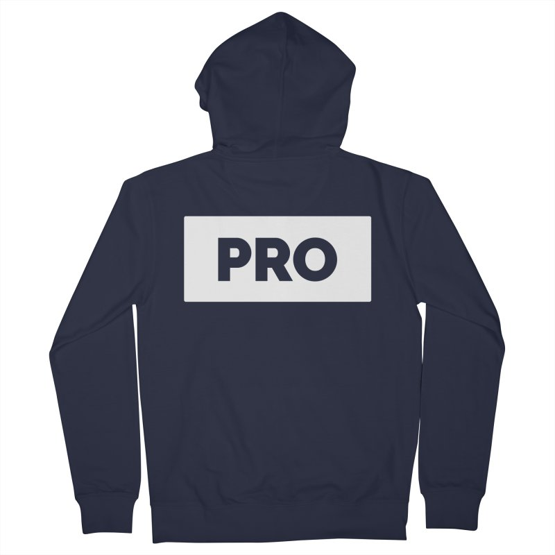 Like a PRO Men's French Terry Zip-Up Hoody by Shirts by Hal Gatewood