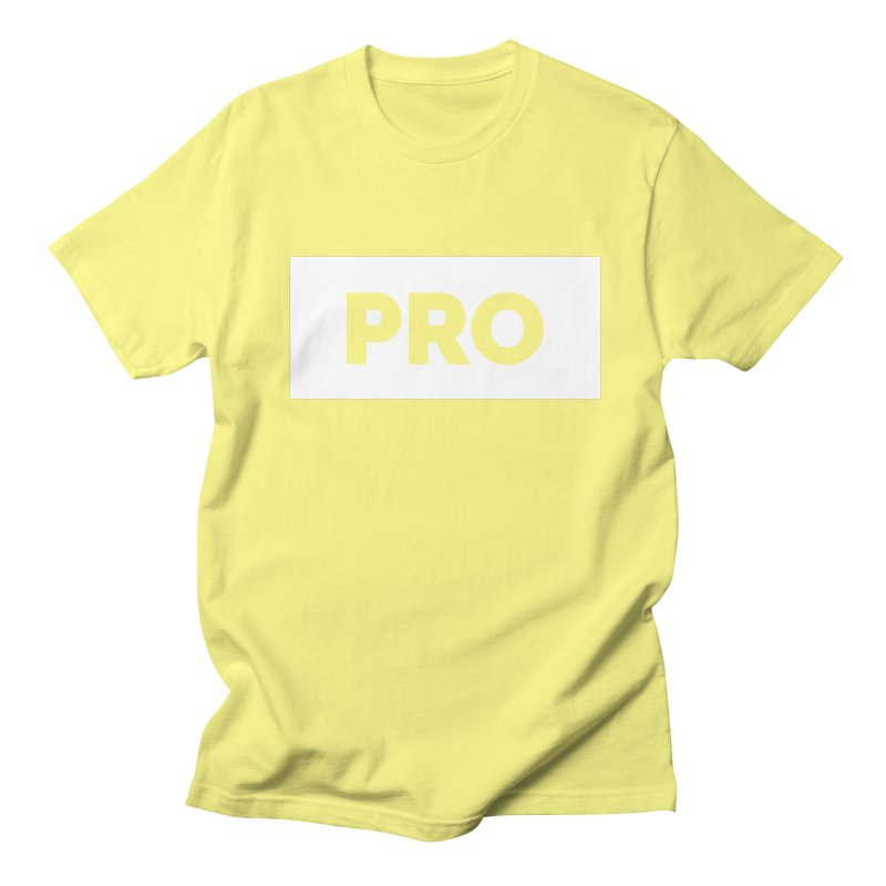 Like a PRO Men's Regular T-Shirt by Shirts by Hal Gatewood