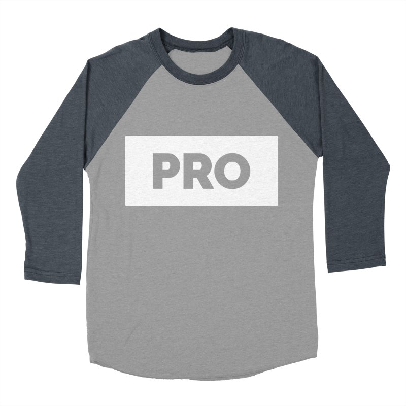 Like a PRO Women's Baseball Triblend Longsleeve T-Shirt by Shirts by Hal Gatewood