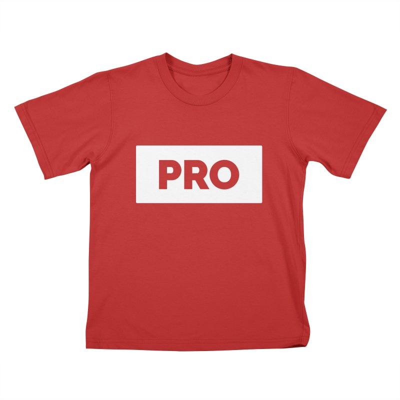 Like a PRO Kids T-Shirt by Shirts by Hal Gatewood