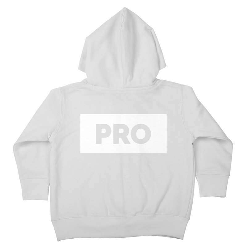 Like a PRO Kids Toddler Zip-Up Hoody by Shirts by Hal Gatewood