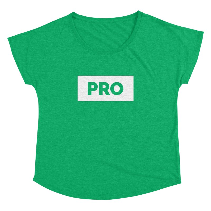 Like a PRO Women's Dolman Scoop Neck by Shirts by Hal Gatewood
