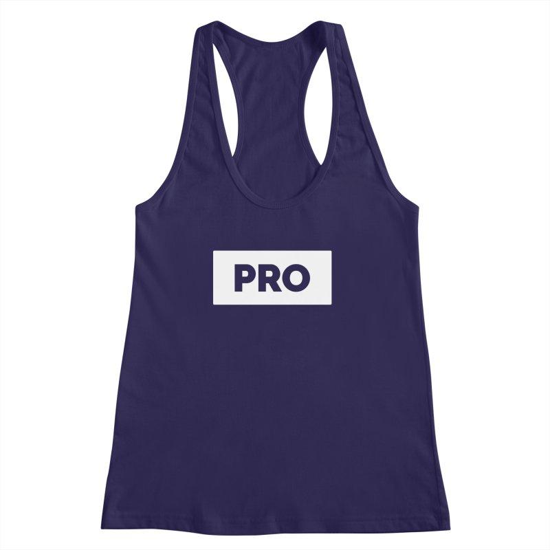 Like a PRO Women's Racerback Tank by Shirts by Hal Gatewood