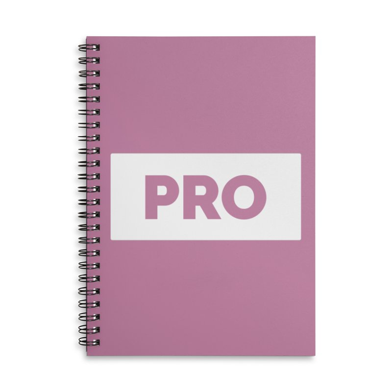 Like a PRO Accessories Lined Spiral Notebook by Shirts by Hal Gatewood