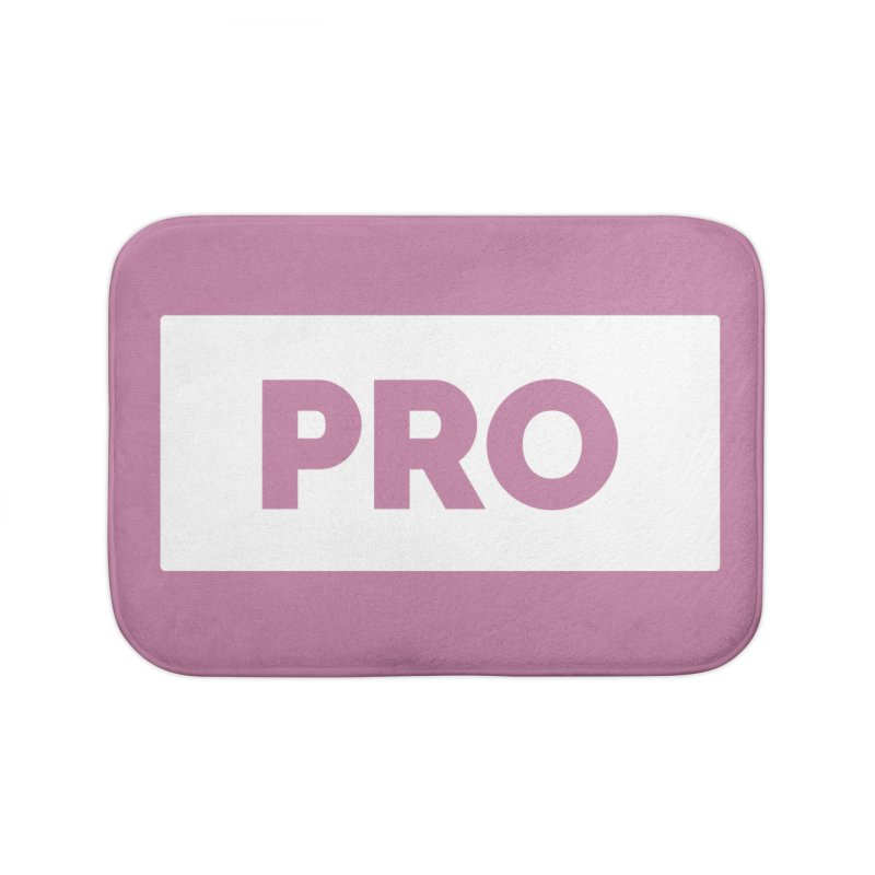 Like a PRO Home Bath Mat by Shirts by Hal Gatewood