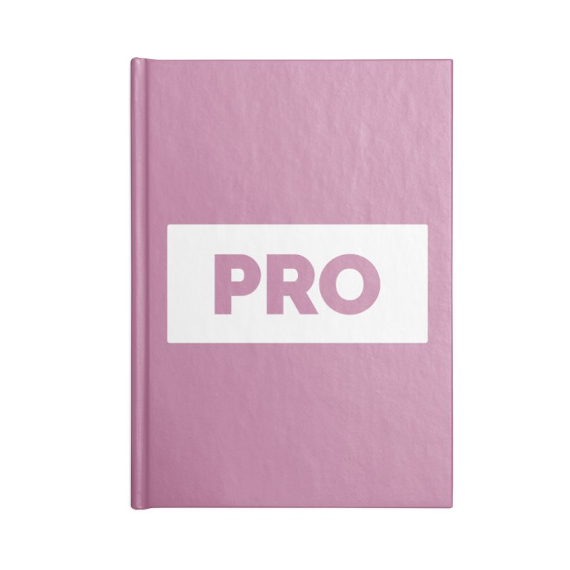 Like a PRO Accessories Lined Journal Notebook by Shirts by Hal Gatewood