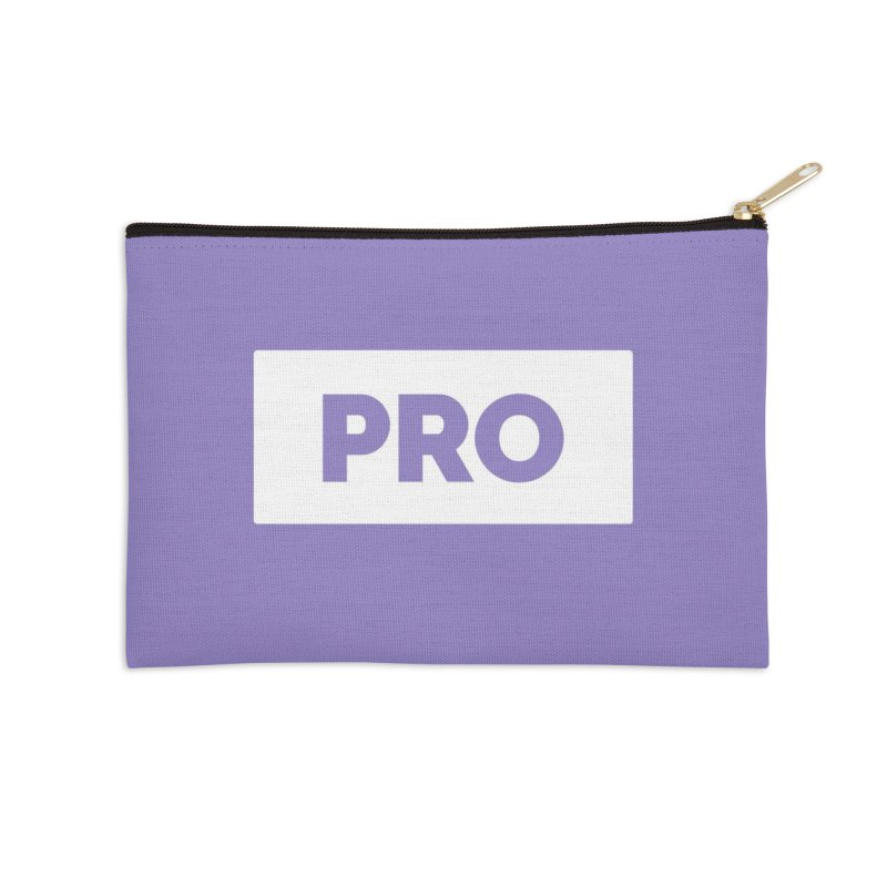 Like a PRO Accessories Zip Pouch by Shirts by Hal Gatewood
