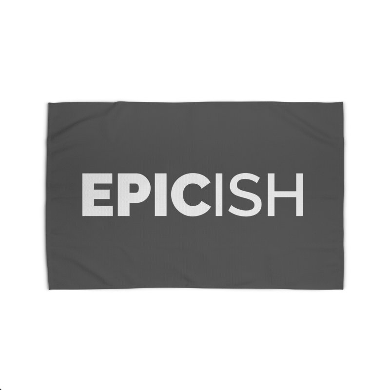 EPICish Home Rug by Shirts by Hal Gatewood