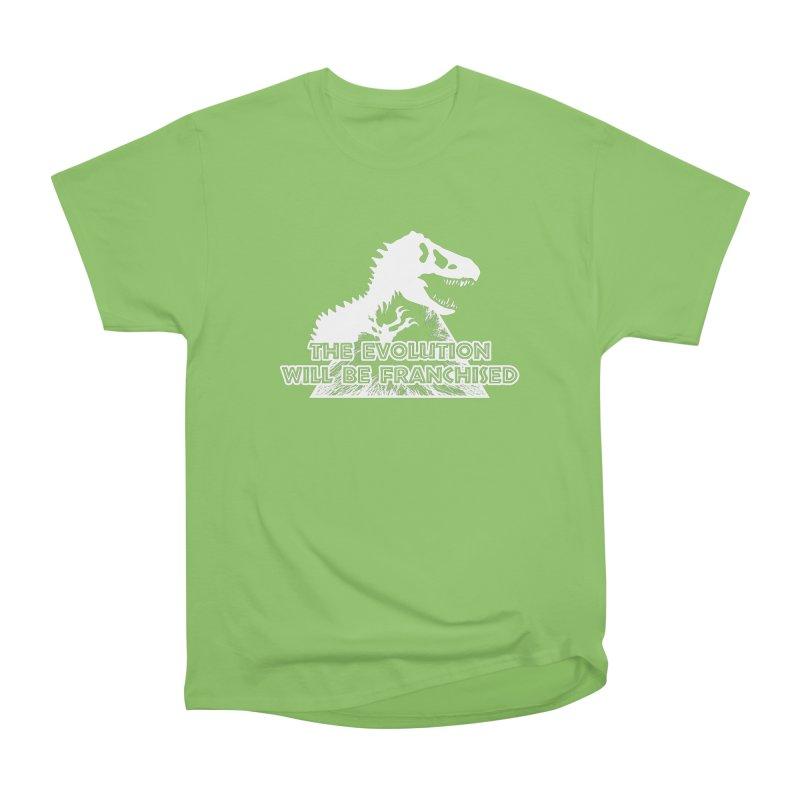 THE EVOLUTION Men's Heavyweight T-Shirt by Halil Gokdal