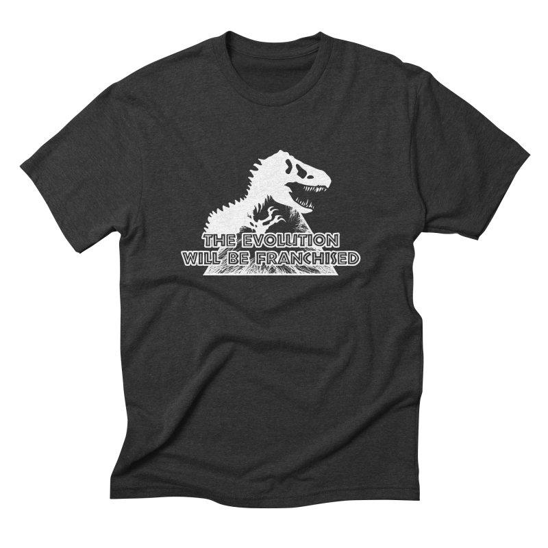 THE EVOLUTION Men's Triblend T-Shirt by Halil Gokdal