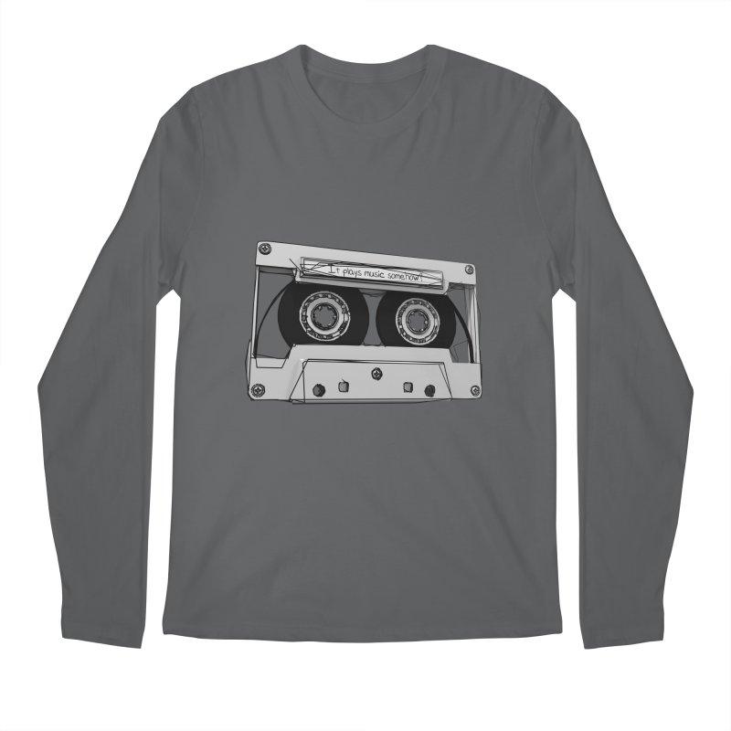 It plays music somehow? Men's Longsleeve T-Shirt by hamenthotep's Artist Shop