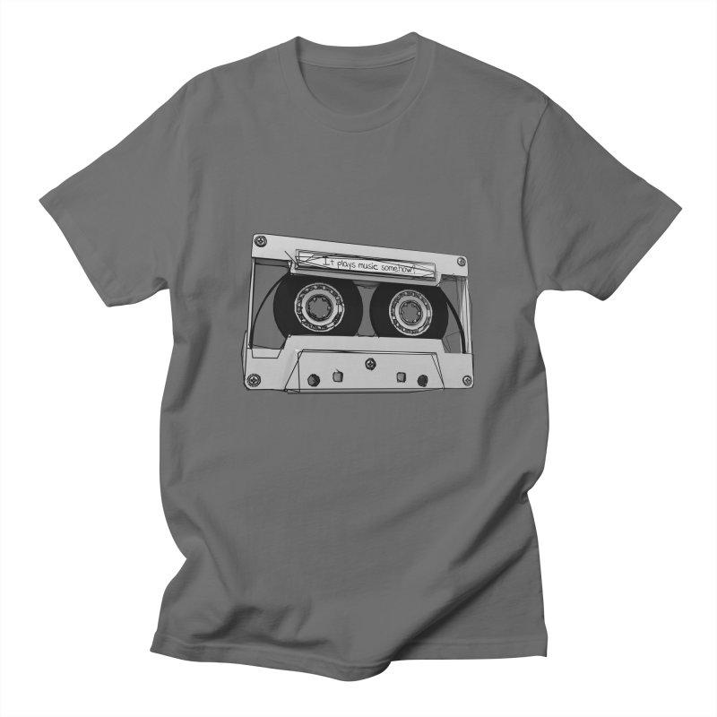 It plays music somehow? Men's T-Shirt by hamenthotep's Artist Shop