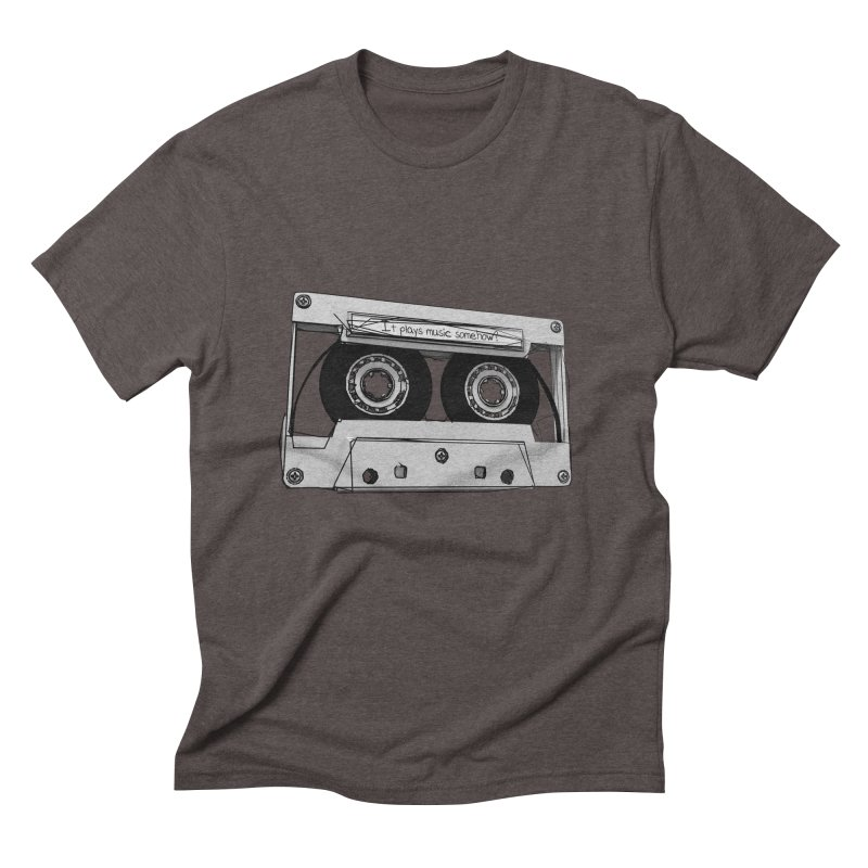It plays music somehow? Men's Triblend T-Shirt by hamenthotep's Artist Shop