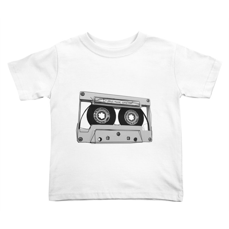 It plays music somehow? Kids Toddler T-Shirt by hamenthotep's Artist Shop