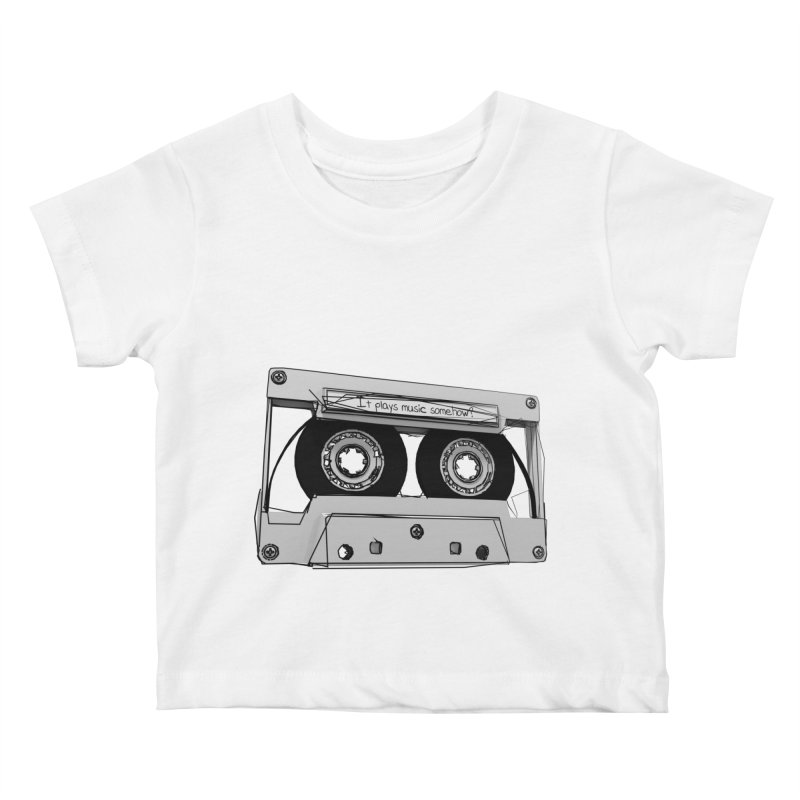 It plays music somehow? Kids Baby T-Shirt by hamenthotep's Artist Shop