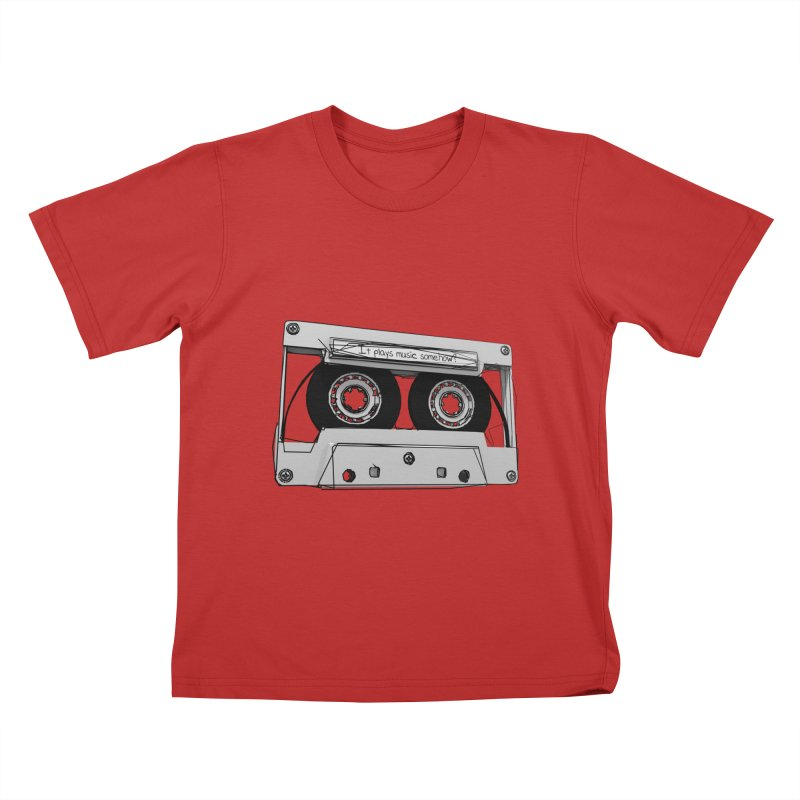 It plays music somehow? Kids T-Shirt by hamenthotep's Artist Shop