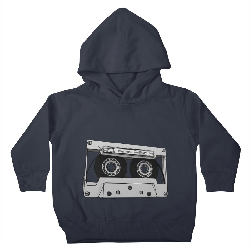 It plays music somehow? Kids Toddler Pullover Hoody by hamenthotep's Artist Shop