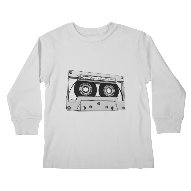 It plays music somehow? Kids Longsleeve T-Shirt by hamenthotep's Artist Shop
