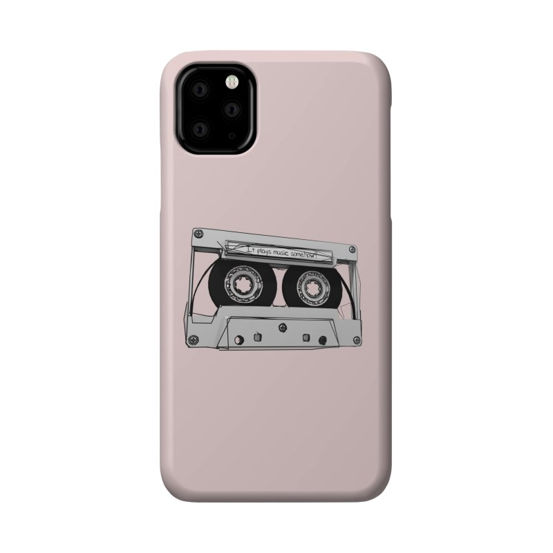 It plays music somehow? Accessories Phone Case by hamenthotep's Artist Shop
