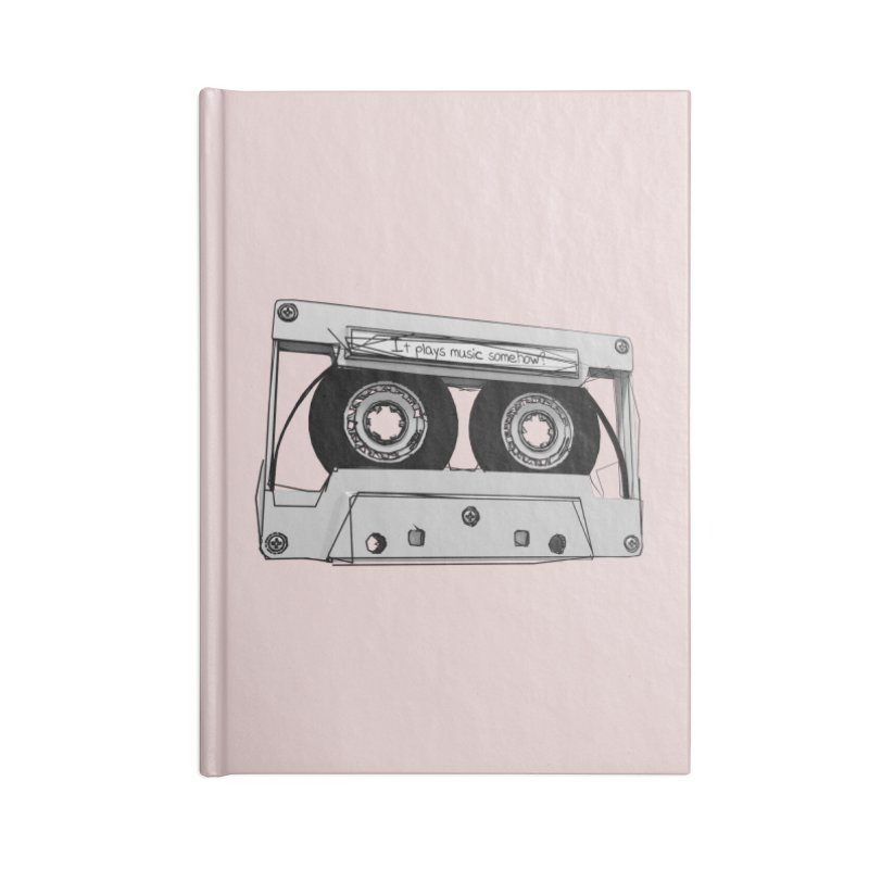 It plays music somehow? Accessories Notebook by hamenthotep's Artist Shop