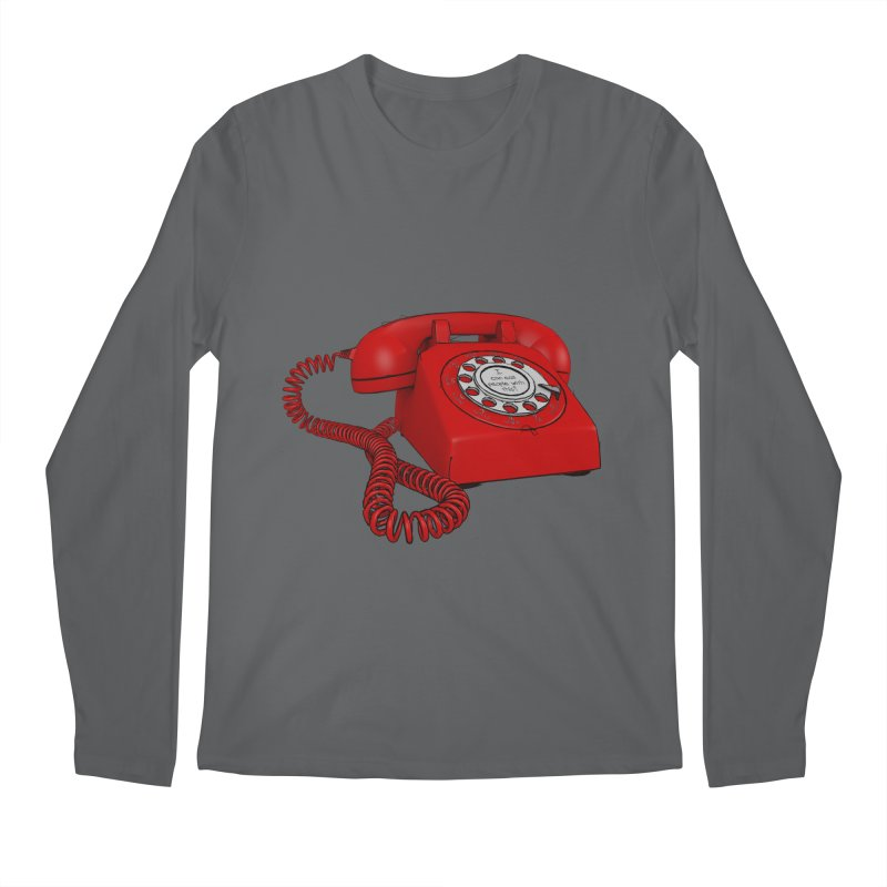 I can call people with this? Men's Longsleeve T-Shirt by hamenthotep's Artist Shop