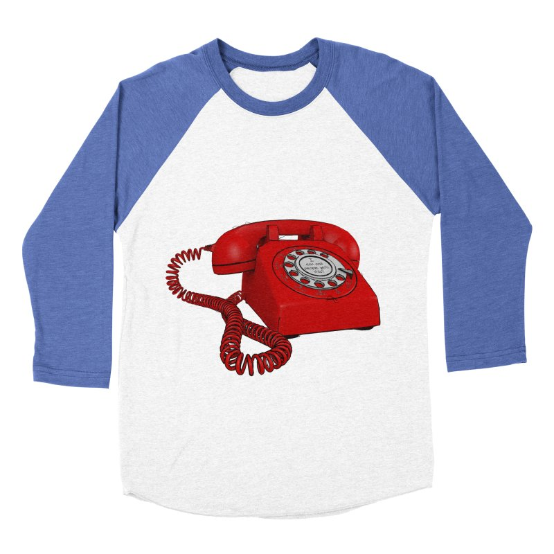 I can call people with this? Men's Baseball Triblend Longsleeve T-Shirt by hamenthotep's Artist Shop
