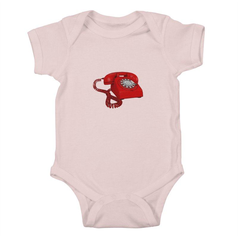 I can call people with this? Kids Baby Bodysuit by hamenthotep's Artist Shop