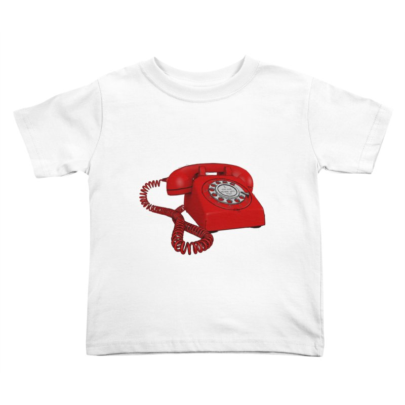 I can call people with this? Kids Toddler T-Shirt by hamenthotep's Artist Shop