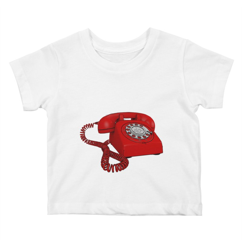 I can call people with this? Kids Baby T-Shirt by hamenthotep's Artist Shop