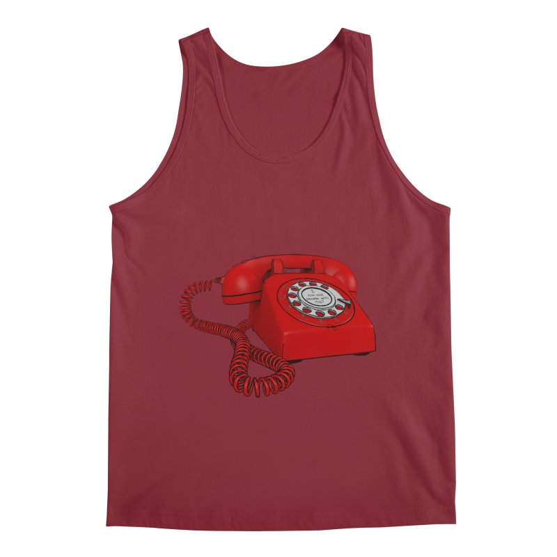 I can call people with this? Men's Regular Tank by hamenthotep's Artist Shop