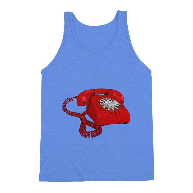 I can call people with this? Men's Triblend Tank by hamenthotep's Artist Shop