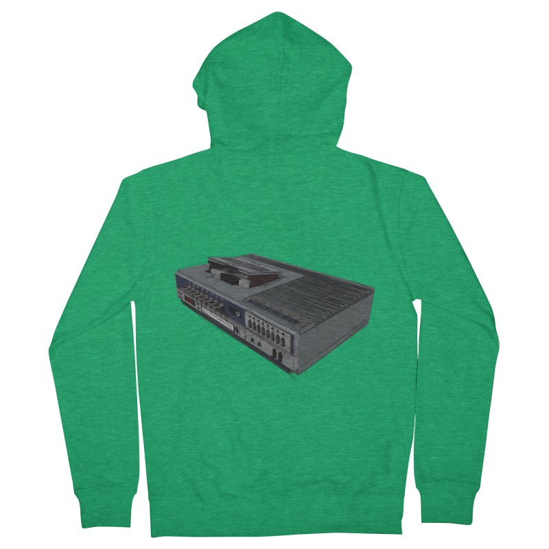 I can watch movies with this? Men's Zip-Up Hoody by hamenthotep's Artist Shop