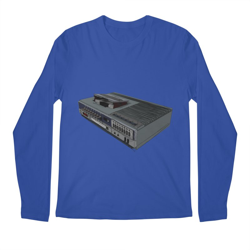I can watch movies with this? Men's Longsleeve T-Shirt by hamenthotep's Artist Shop
