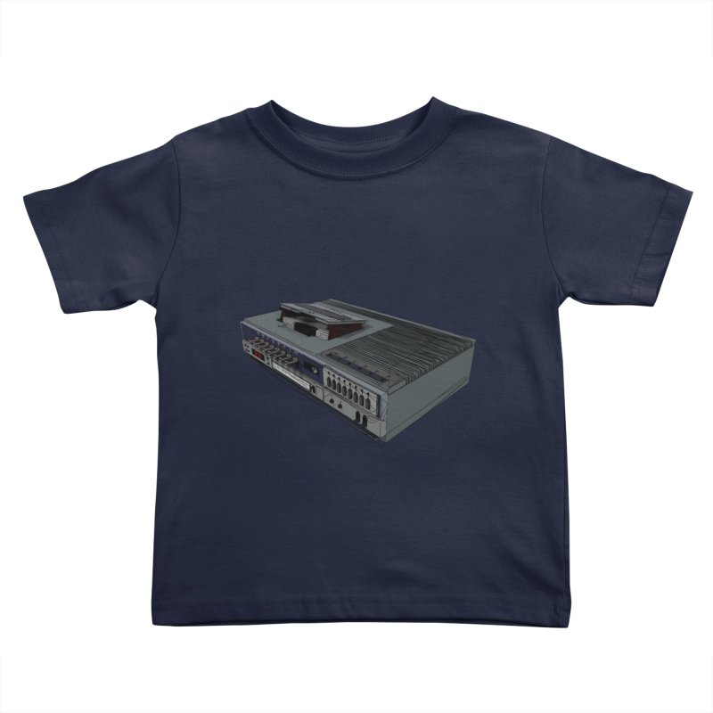 I can watch movies with this? Kids Toddler T-Shirt by hamenthotep's Artist Shop