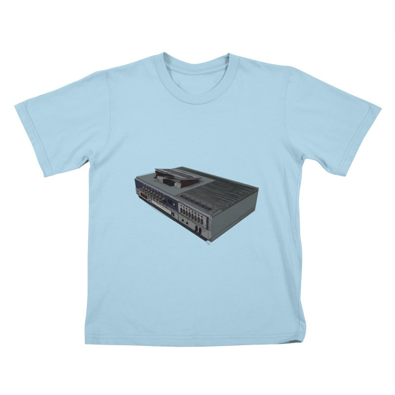 I can watch movies with this? Kids T-Shirt by hamenthotep's Artist Shop
