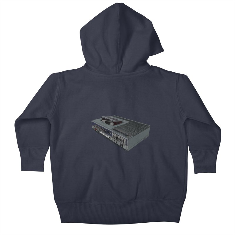 I can watch movies with this? Kids Baby Zip-Up Hoody by hamenthotep's Artist Shop