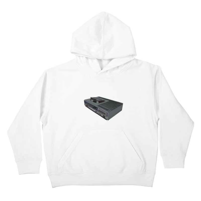 I can watch movies with this? Kids Pullover Hoody by hamenthotep's Artist Shop