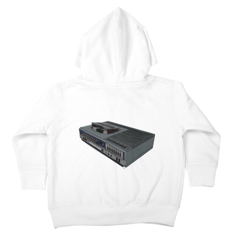 I can watch movies with this? Kids Toddler Zip-Up Hoody by hamenthotep's Artist Shop