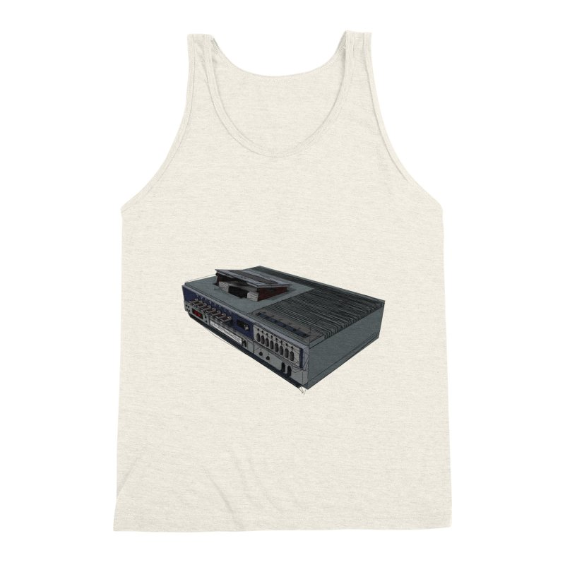 I can watch movies with this? Men's Triblend Tank by hamenthotep's Artist Shop