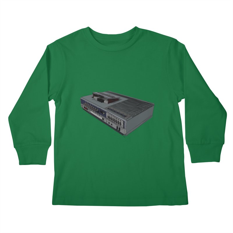 I can watch movies with this? Kids Longsleeve T-Shirt by hamenthotep's Artist Shop