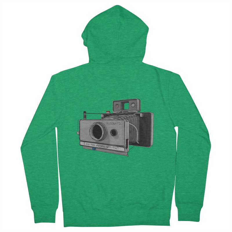 I can take pictures with this? Men's Zip-Up Hoody by hamenthotep's Artist Shop