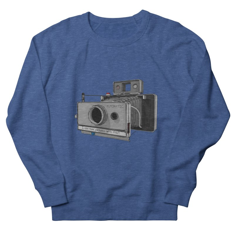 I can take pictures with this? Men's Sweatshirt by hamenthotep's Artist Shop