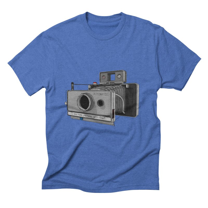 I can take pictures with this? Men's Triblend T-Shirt by hamenthotep's Artist Shop