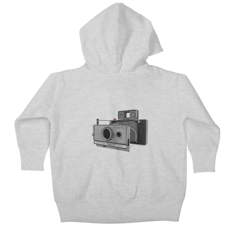 I can take pictures with this? Kids Baby Zip-Up Hoody by hamenthotep's Artist Shop