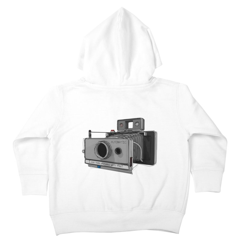I can take pictures with this? Kids Toddler Zip-Up Hoody by hamenthotep's Artist Shop