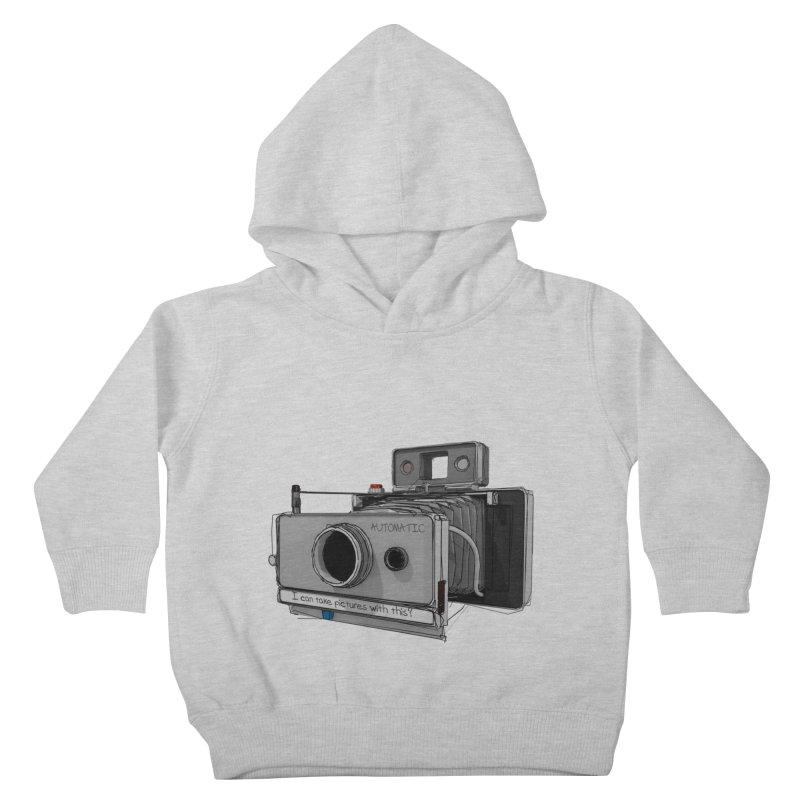 I can take pictures with this? Kids Toddler Pullover Hoody by hamenthotep's Artist Shop