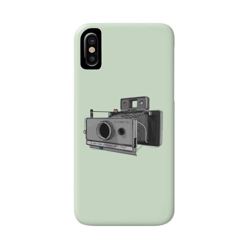 I can take pictures with this? Accessories Phone Case by hamenthotep's Artist Shop