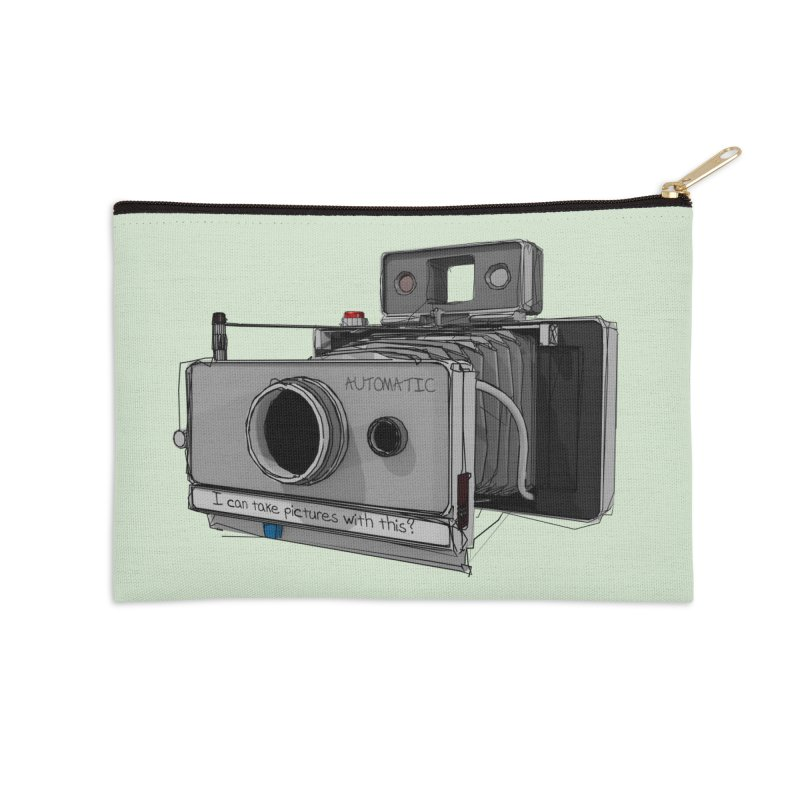 I can take pictures with this? Accessories Zip Pouch by hamenthotep's Artist Shop