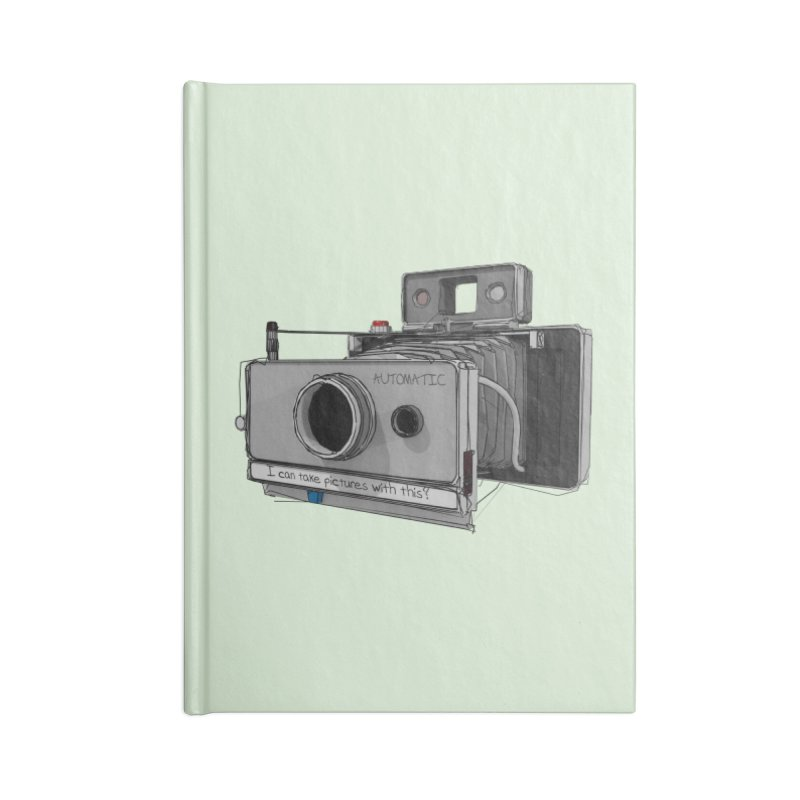 I can take pictures with this? Accessories Notebook by hamenthotep's Artist Shop